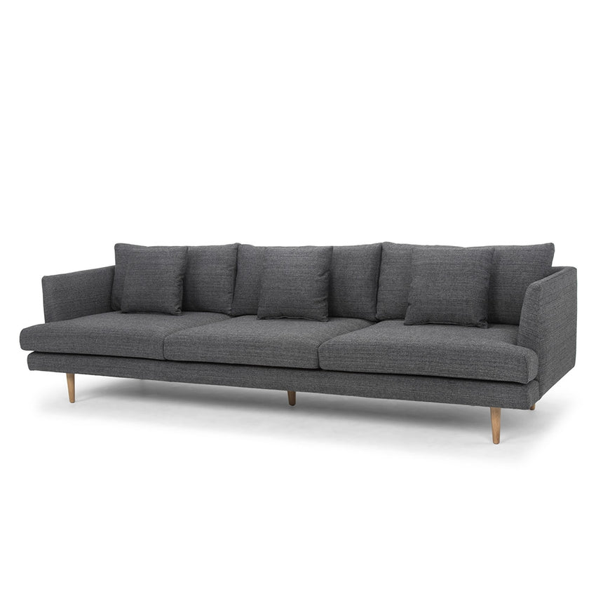 CLC804 4 Seater Sofa - Metal Grey