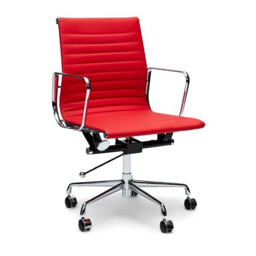 COC101R Leather Office Chair - Red