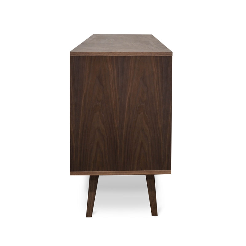CDT1231-DW Scandinavian Sideboard Buffet Unit - Walnut