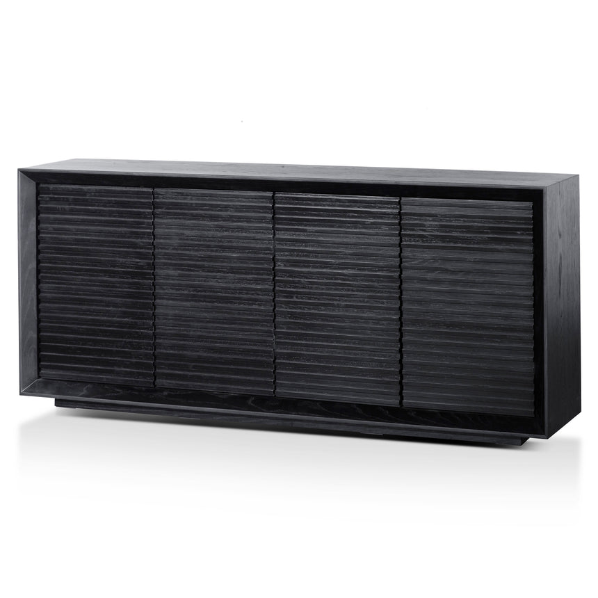 CDT6202-CN 1.9m Wooden Sideboard - Black Oak
