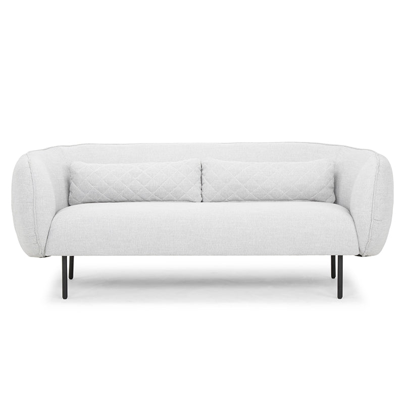 CLC808  3 Seater Sofa in Light Texture Grey