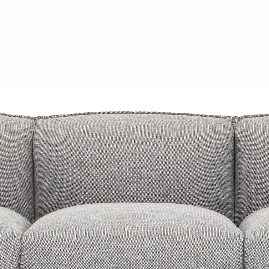 CLC2956-FA 3 Seater Fabric Sofa - Graphite Grey