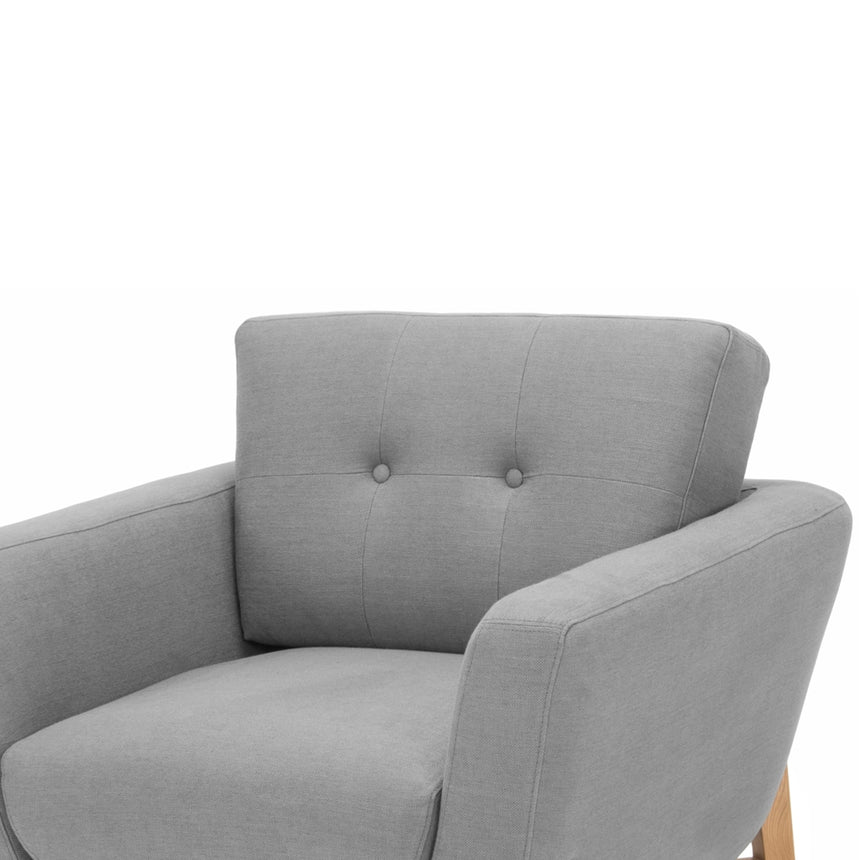 CLC2490-FA Armchair - Steel Grey