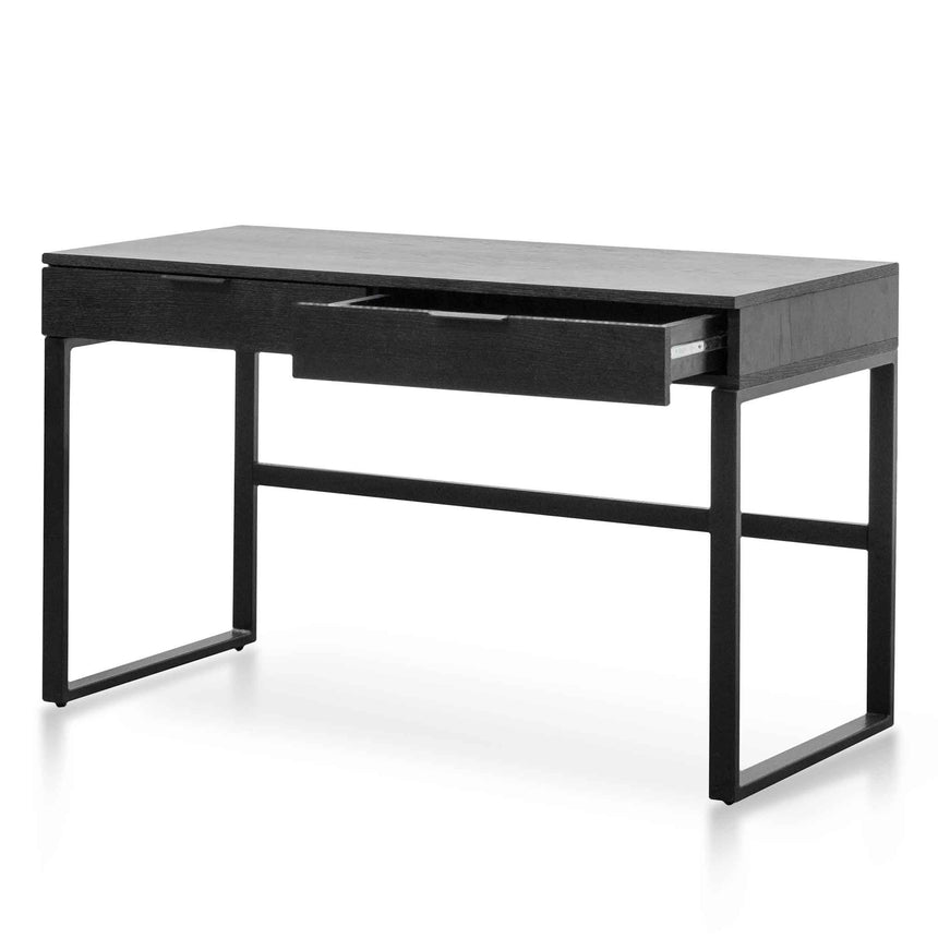 COF6204-KD 120cm Home Office Desk - Black