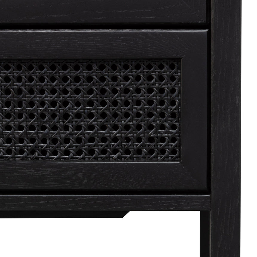 CDT6142-CU Wooden 6 Drawer Chest  - Black