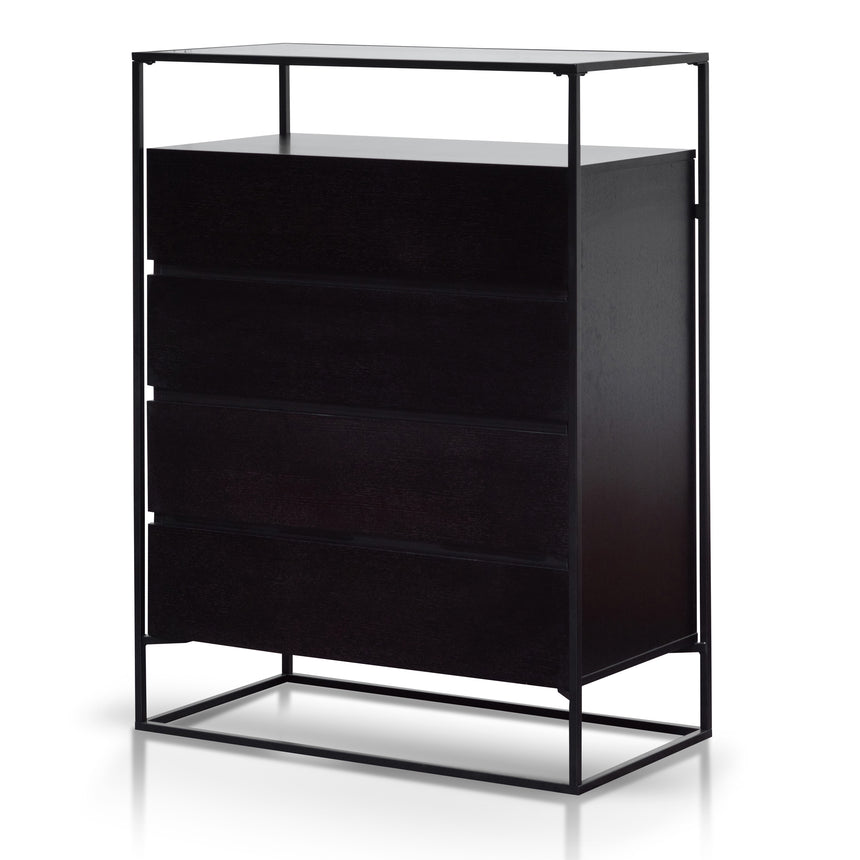 CDT6154-IG Norman Drawer Chest - Black