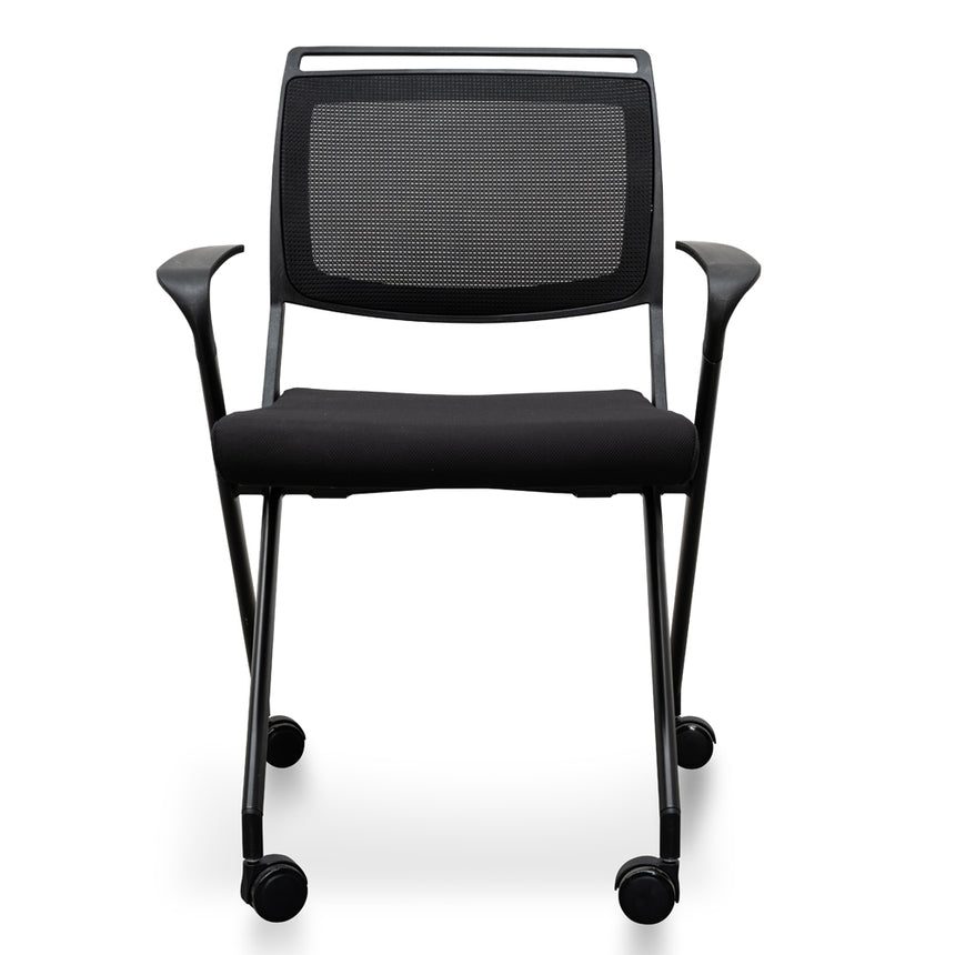 COC2346-SN Office Visitor Chair - Black