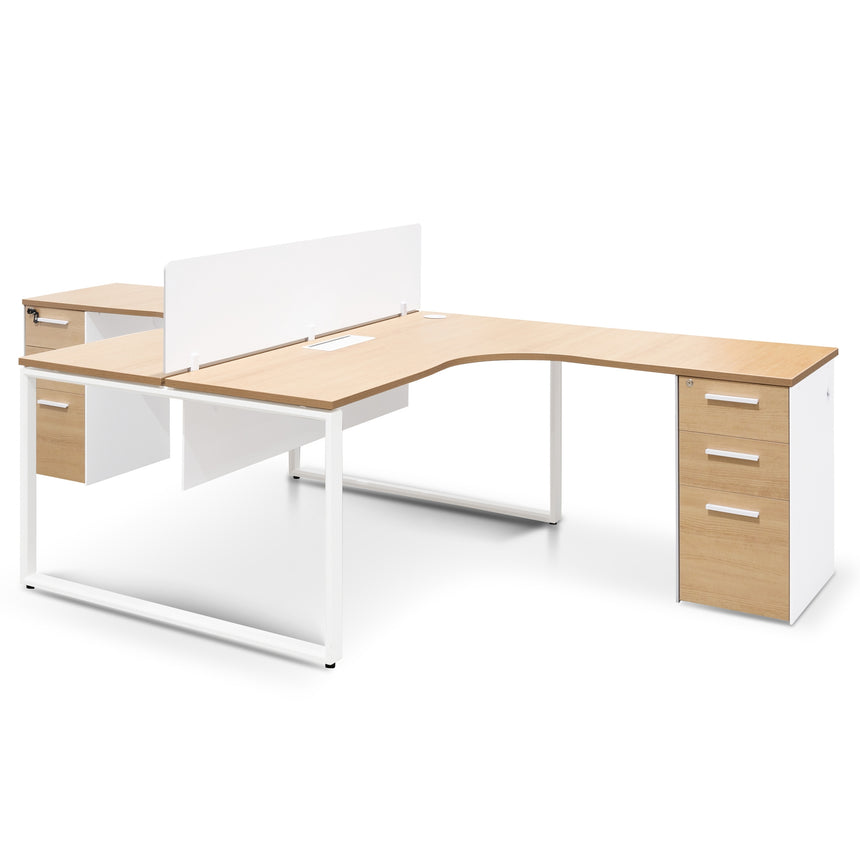 COT6106-SN - Round Office Meeting Table - Natural