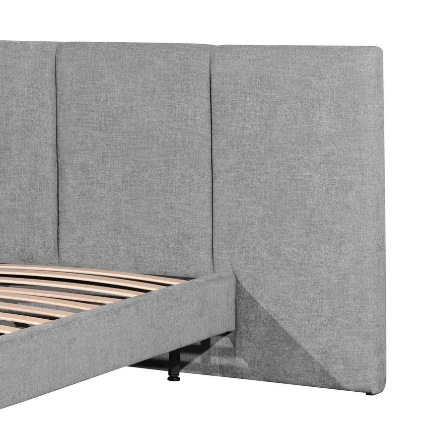 CBD6305-MI King bed Frame - Flint Grey
