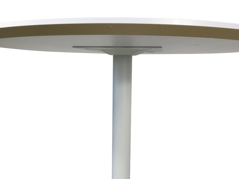 COT221 Round Office Meeting Table - White