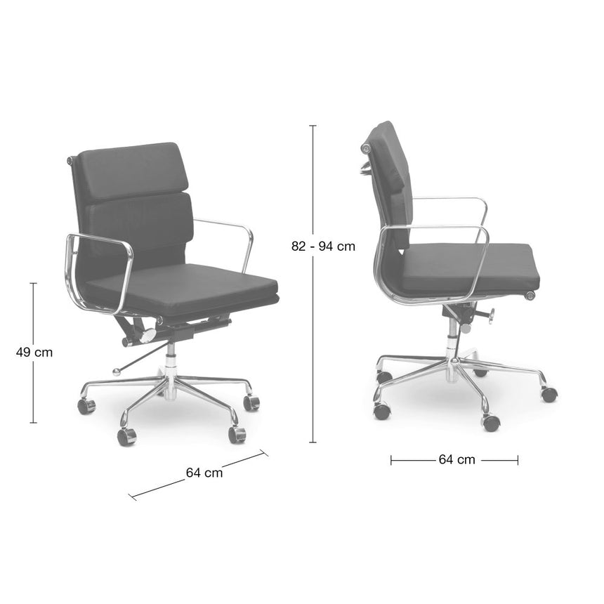 COC103W Soft Pad Boardroom Chair - White
