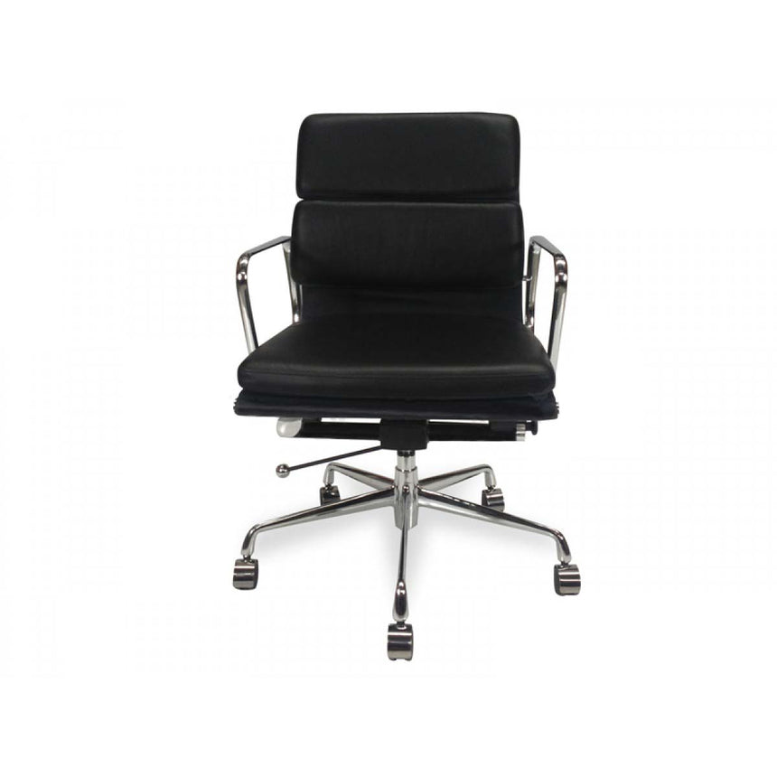COC103  Soft Pad Boardroom Office Chair - Black