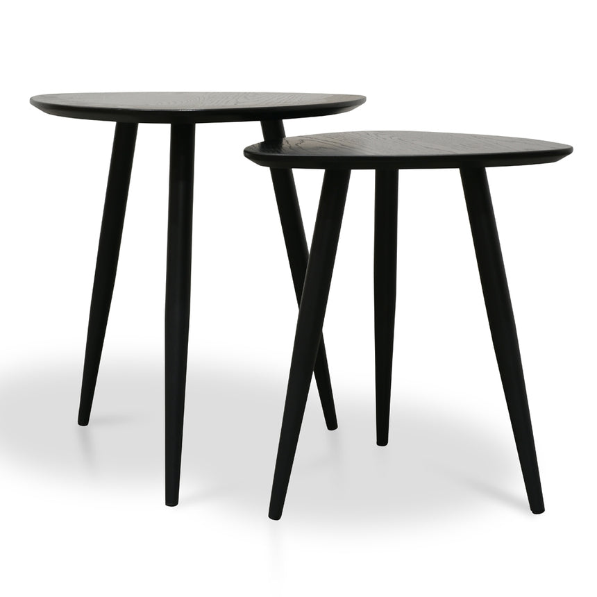 CST2410-KD Set of Side Table - Black