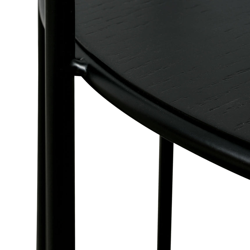 CST2483-SD Side Table - Black