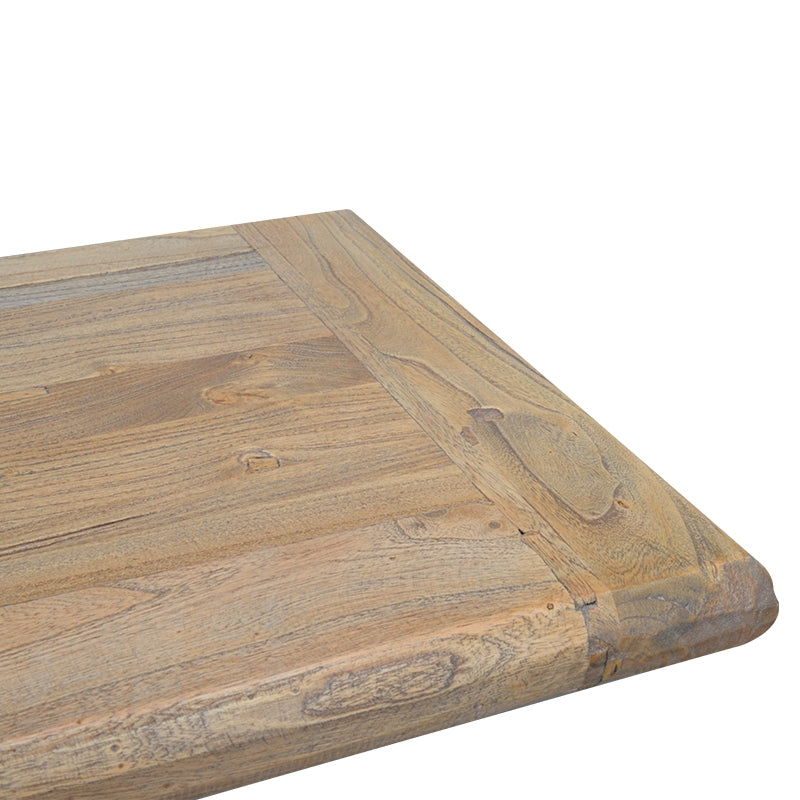 CDB2088 2m Reclaimed ELM Wood Bench - Natural