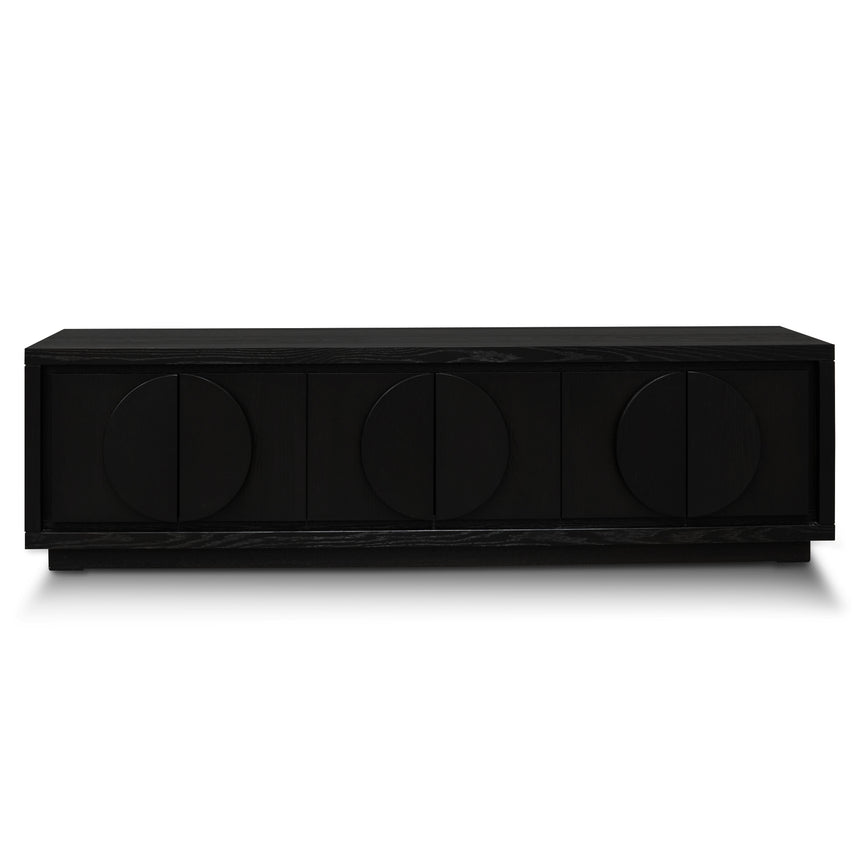 CTV2901-VA 2m Entertainment TV Unit - Textured Espresso Black