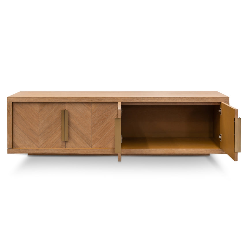 CTV2910-VA 1.8m Entertainment TV Unit - Dusty Oak