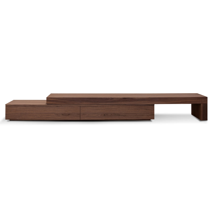 CTV6089-CN - Extendable Entertainment TV Unit - Walnut