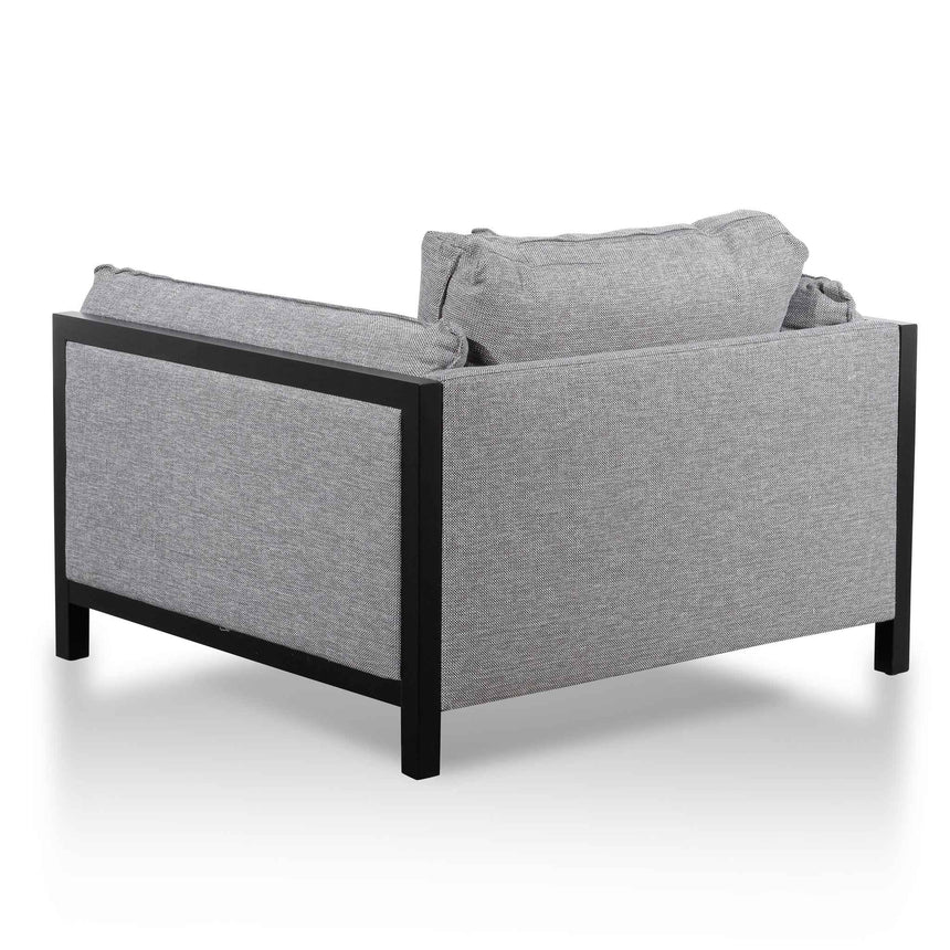 CLC6259-KSO Fabric Armchair - Graphite Grey