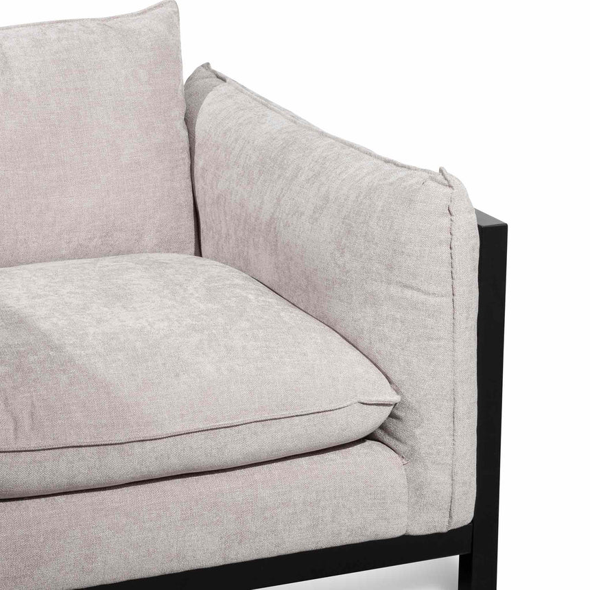 CLC6258-KSO Fabric Armchair - Oyster Beige