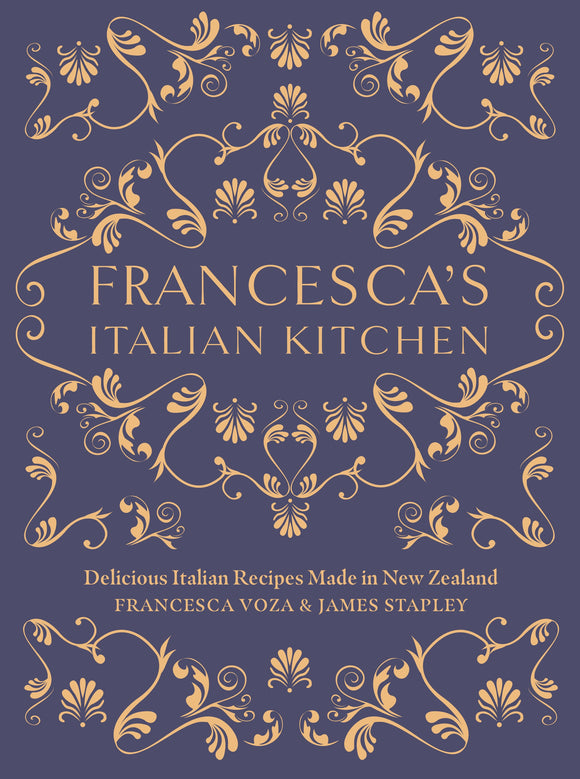 Francesca's Italian Kitchen Cookbook - a % of this sale will go back to Francesca's
