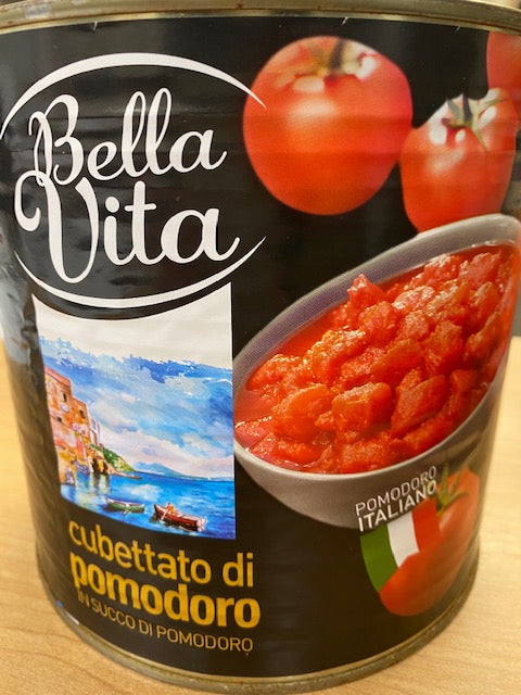 Tomatoes chopped A10 2.5 kg Bella Vita
