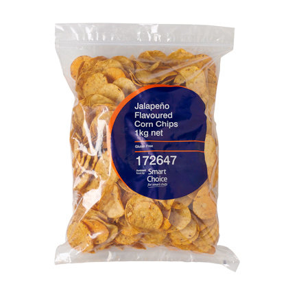 Corn Chips Jalapeno Smart Choice 1 kg G/F
