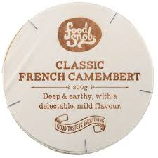 Chse Foodsnob Classic French Camembert 200 gm
