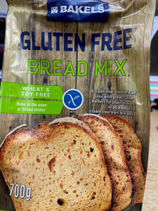 GF Bread Mix Bakels 700 gms