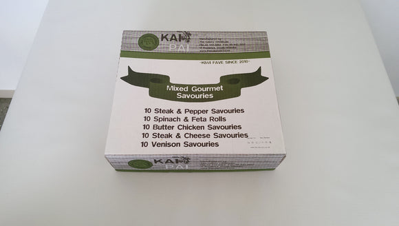 Savouries Gourmet Kai Pai 24 pc made in Wanaka