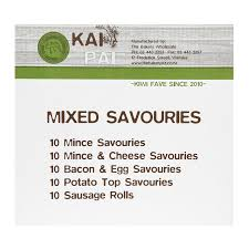 Savouries Mixed Kai Pai 24 pc made in Wanaka