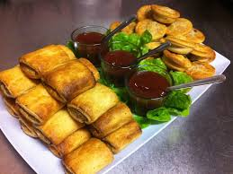 Savouries Sausage Rolls Kai Pai 24 pc Made in Wanaka