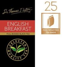 Lipton English Breakfast 25