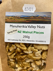 Manuherikia Walnut Pieces 250 gm