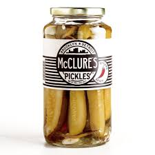 McClure Pickles Spicy Spears 907 gm