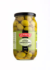 Olives Pitted Lepanto 1 kg