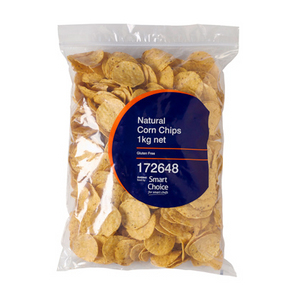 Corn Chips Natural Smart Choice 1 KG