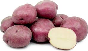 2kg washed red potato