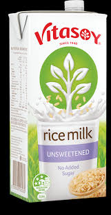 Vitasoy Milk Rice Unsweetened 1 lt