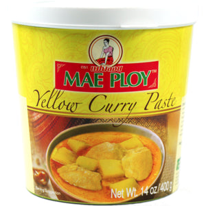 Curry paste paste yellow Mae Ploy 400gm
