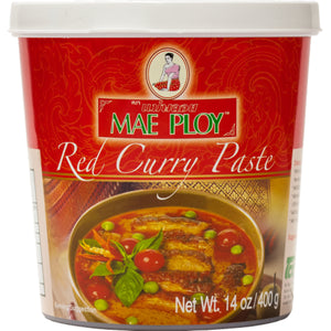 Curry paste paste red Mae Ploy 400gm