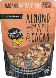 Muesli STCA Almond Maple & Cacao 400 gm