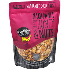 Muesli STCA Macadamia Honey G/F 375 gm