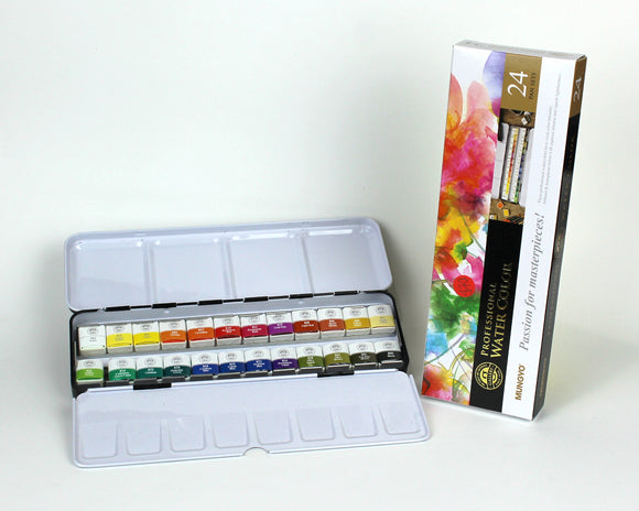 Watercolour professional set of 24