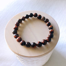 Load image into Gallery viewer, Red Tiger Eye Bracelets