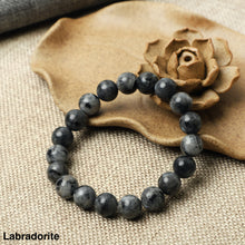 Load image into Gallery viewer, Black Labradorite Bracelets