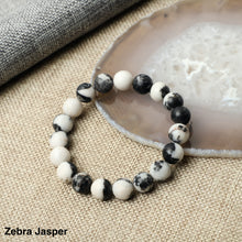 Load image into Gallery viewer, Zebra Jasper Bracelets