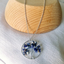 Load image into Gallery viewer, Tree of Life  Chips Stone Necklace