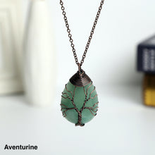 Load image into Gallery viewer, Tree of Life  handmade Stone  Necklace