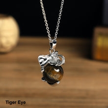 Load image into Gallery viewer, Elephant Stone  Necklace